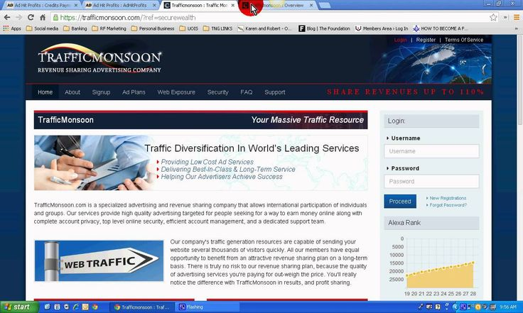 Ad Hit Profits Vs Traffic Monsoon