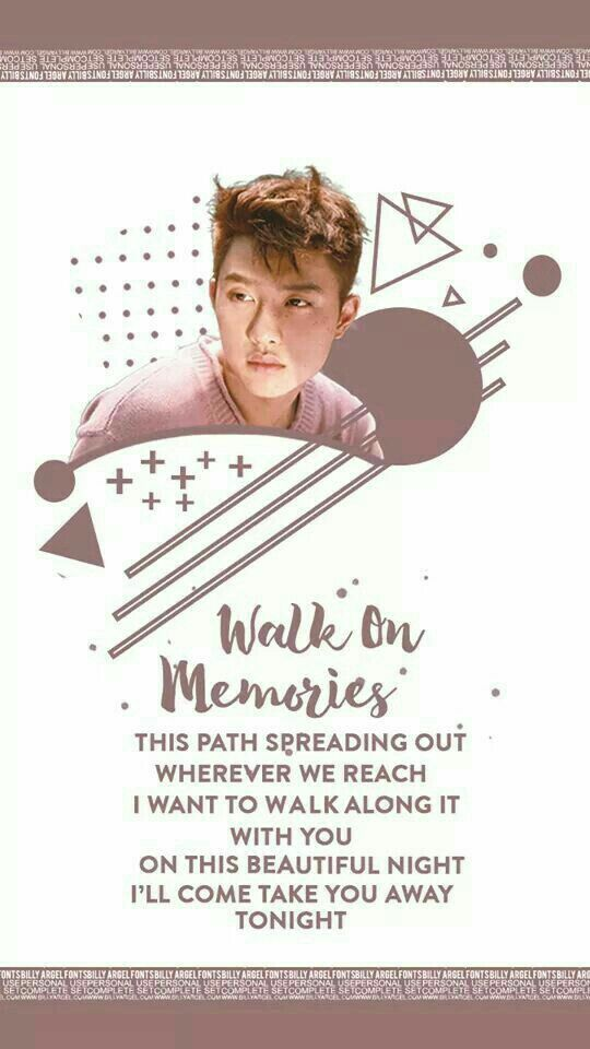 D.O #Kokobop #Walk_On_Memories