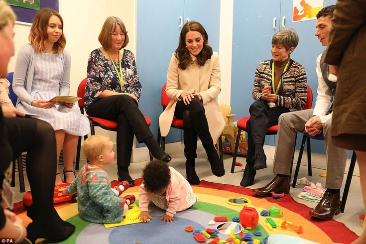 During a discussion with families, Kate admitted that Prince Wiliam had initially struggle...