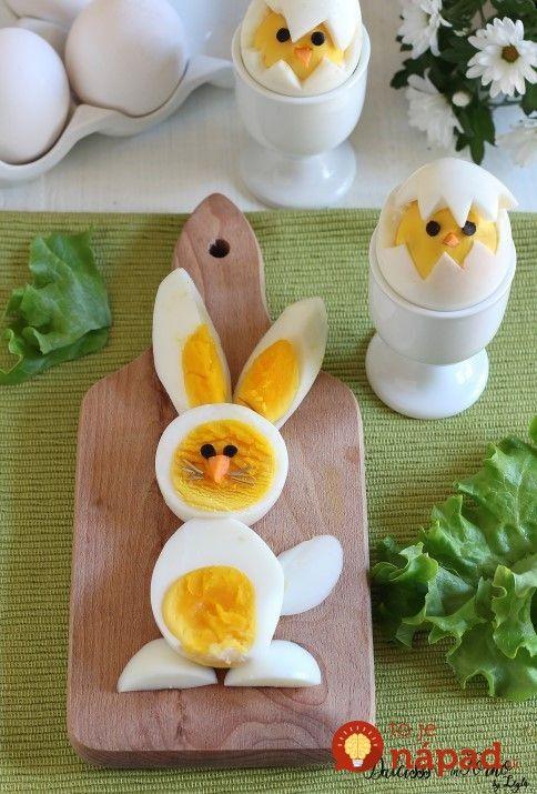 Na Veľkú noc si nezabudnite uvarte pár vajec navyše: Tento nápad je taký roztomilý, že hneď očarí každého vášho hosťa!