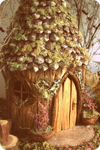 Gnome Garden: 17 Best Ideas About Fairy Homes On Pinterest