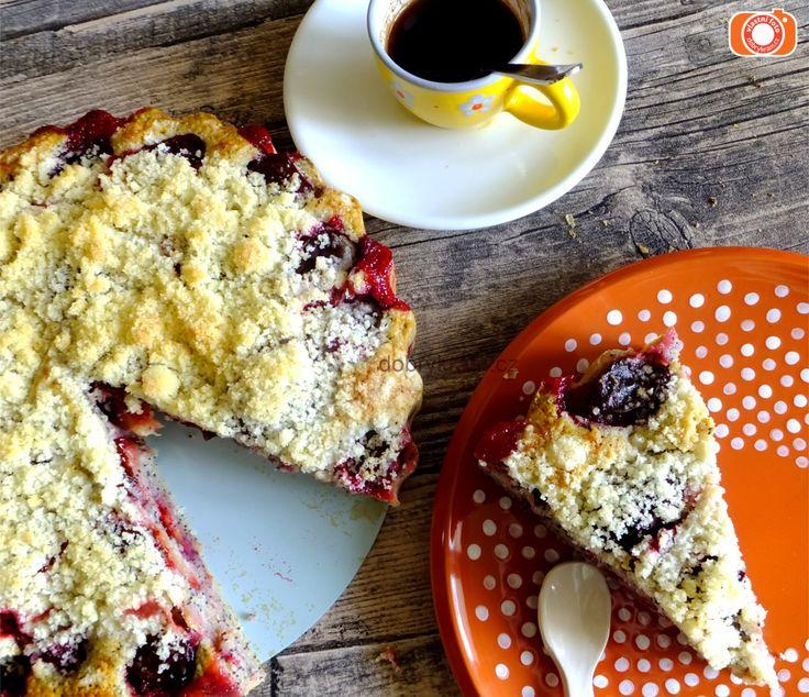 švestkový koláč je prostě nedělní klasika