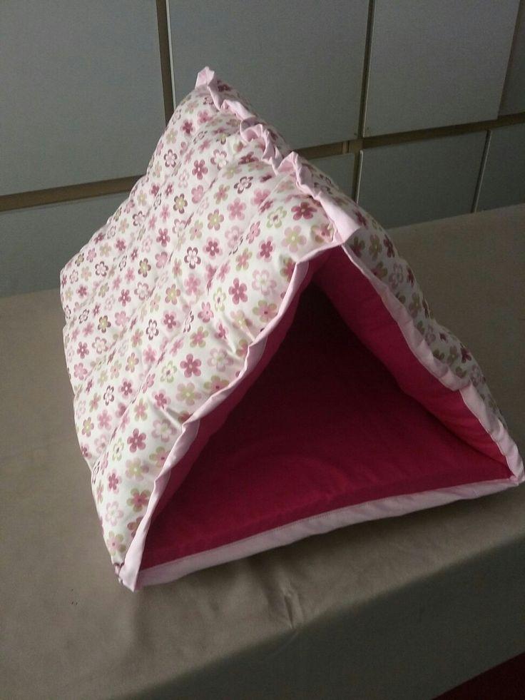Cama pet iglu triangular ...encomendas  (32)988150320