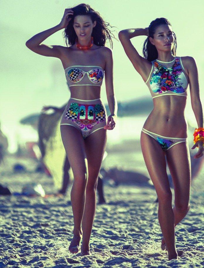 Inspirada na corte portuguesa e no tropicalismo,a nova campanha da coleção da Blue Man verão 2014, teve comocenário a