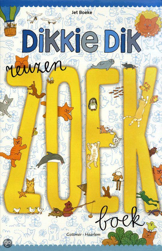 Reuzenzoekboek Dikkie Dik