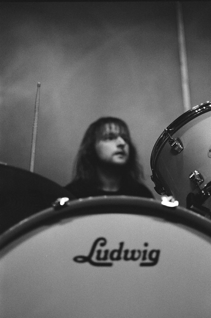 Drummer, drumming, band rehearsal. #Ludwig drum kit www.acebros.co.uk