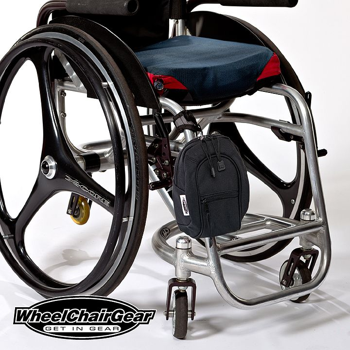 Wheelchair Accessories MiniPacks Provides An Easy Way To Carry Your  Valuables. Stylish And Easy To Use Wheelchair Accessories Bags Created By  Passion