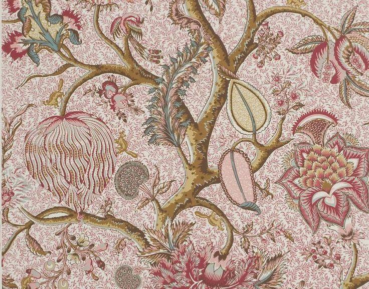 Pierre Frey Tarangire Sienne Wallpaper FP492001 Pierre