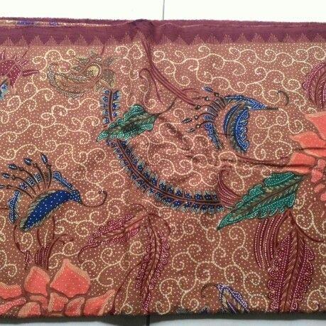 Pattern of material batik