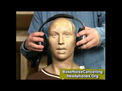 Bose Noise Cancelling Headphones Frequency Response TEST !