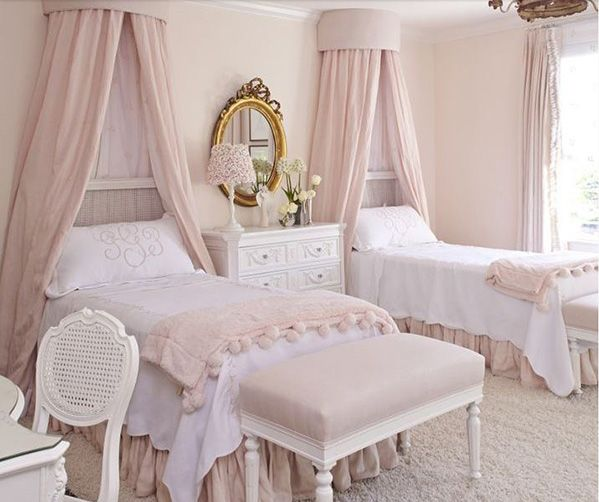 elegant French style bedroom
