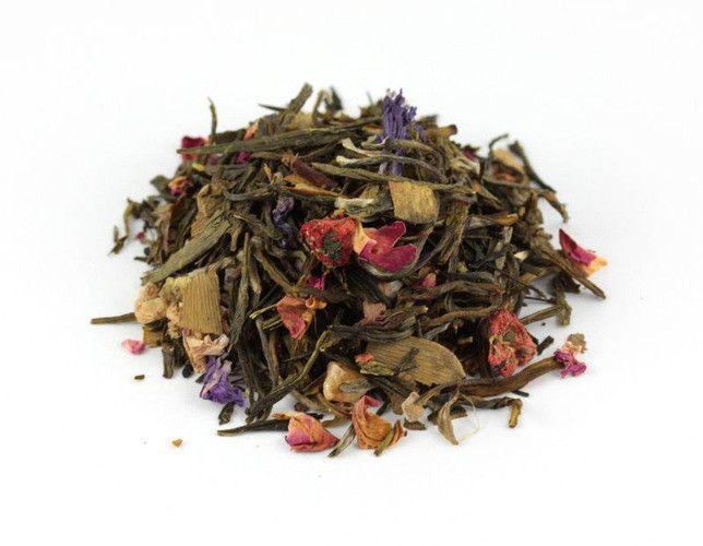 Herbata mieszana Anielskie Łąki | www.herbatkowo.com.pl Herbata ta jest jedną z najsmaczniejszych herbat mieszanych. Niewątpliwie jest to wpływ składników takich, jak herbata biała Snow Buds, czy dobrej jakości chińska zielona sencha, ale też kawałków owoców, które wzbogacają smak herbat naturalnych.