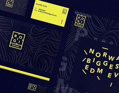 """Check out new work on my @Behance portfolio: """"Rogi Festival - Webdesign & Branding"""" http://on.be.net/1OG4XWo"""
