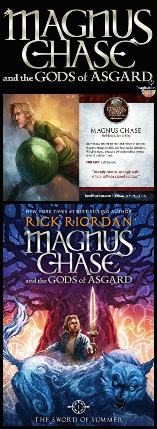 My kids and I LOVED this new book from Rick Riordan (Percy Jackson) -- read my review and tons of links to give you more info on Norse Mythology!!