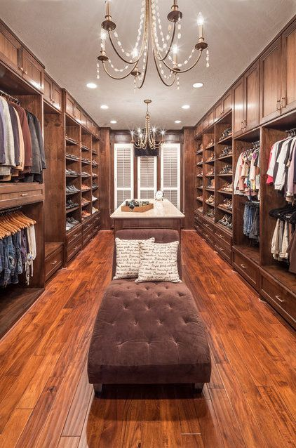 Whole House Renovation - Blooming traditional-closet.