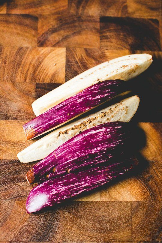 What to Do with the Smallest, Most Beautiful Eggplants of All