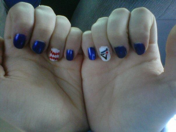 Blue Jays nails by me!