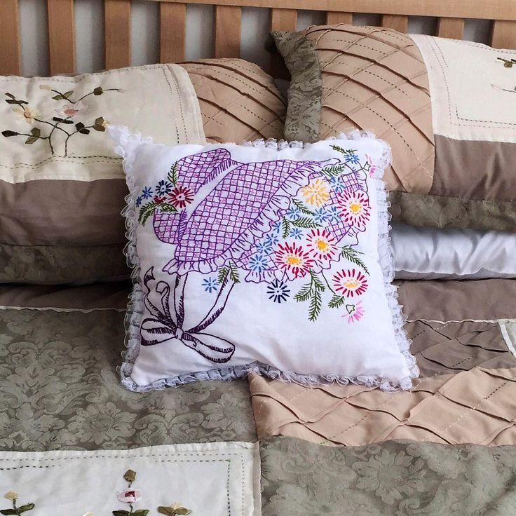 A personal favorite from my Etsy shop https://www.etsy.com/ca/listing/573112983/decorative-pillow-embroidered-pillow