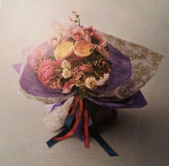 한국적..꽃다발