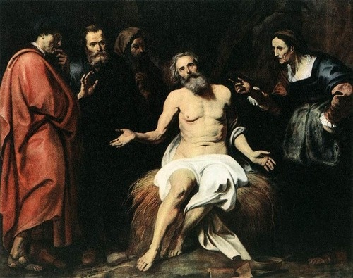 Gerard Seghers, The Patient Job, 17th century, National Gallery (Prague, Czech Republic).