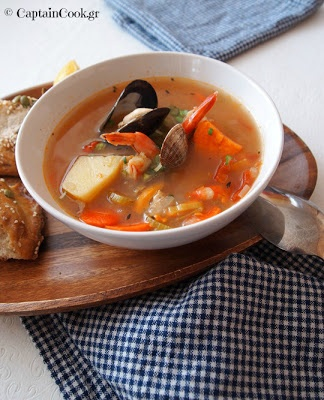 Kakavia - Greek Seafood Chowder