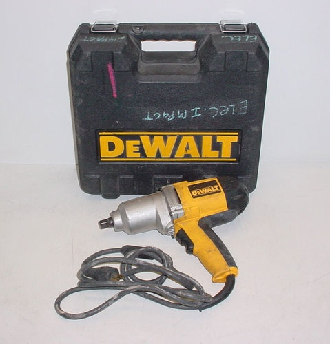 """Dewalt DW292 1 2"""" 13mm Electric Impact Wrench with Case Used   eBay"""
