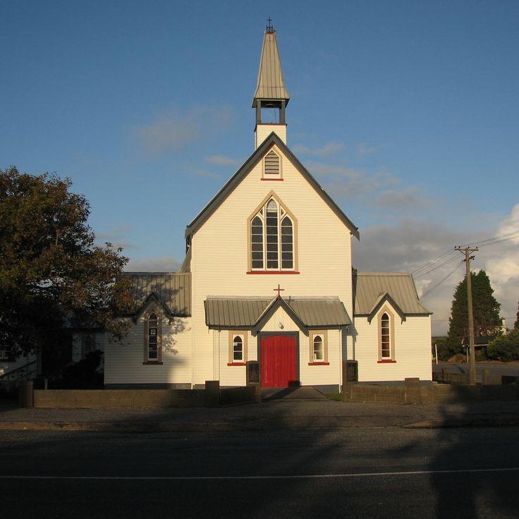 St John's church, Westport, New Zealand.