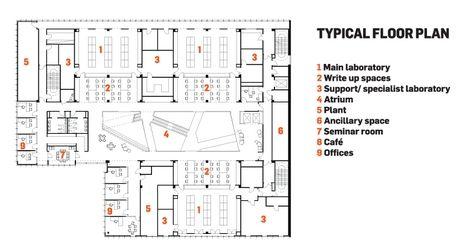 University of oxford biochemistry building by hawkins for Oxford floor plan