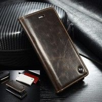 Wish |  Luxury Leather Wallet Case Flip Cover Built-in Card Slots Stand For Samsung Galaxy S4 S5 S6 / S7 / S7 Edge/ SONY Xperia Z3 Z4 Z5 / iPhone 5S 6 Plus / Phone Wallet Case