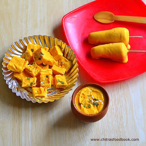 Mango Kulfi Recipe With Condensed Milk Recipe With Images Kulfi Recipe