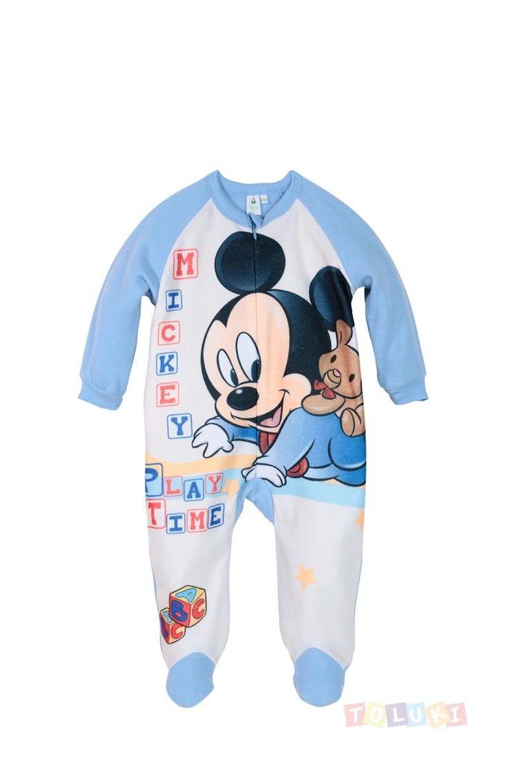 Pyjama Mickey bleu | #Toluki http://www.toluki.com/prod.php?id=628 #Disney #Mickey #enfant #bébé