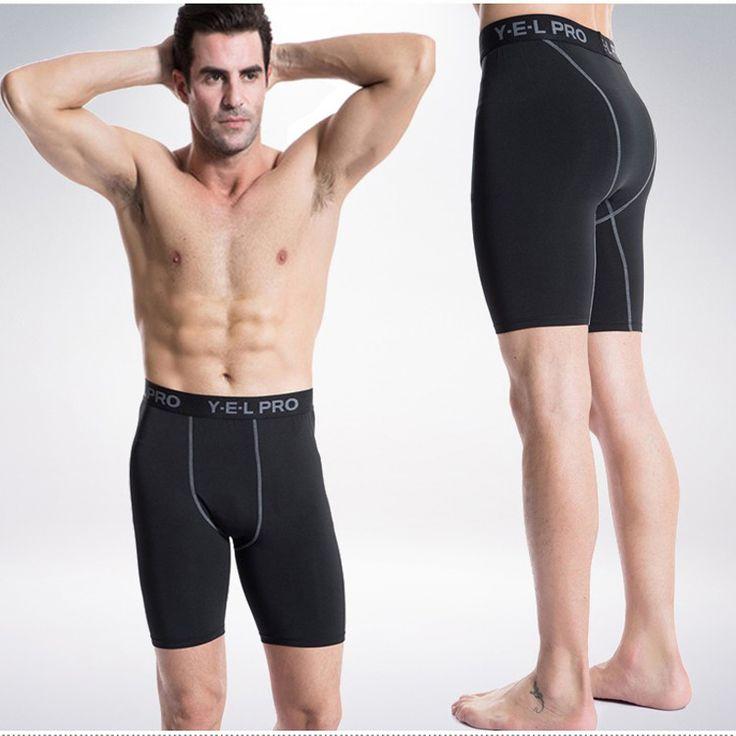 Yel Logotipo Personalizado Hombres Compresión Crossfit Gimnasio Leggings Caliente Pantalones Cortos de Fútbol Pantalones de Jogging pantalones Rápidamente Dry Pantalones Cortos Para Correr