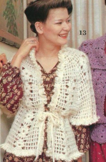 Ivelise Hand Made: Crochet Top Down