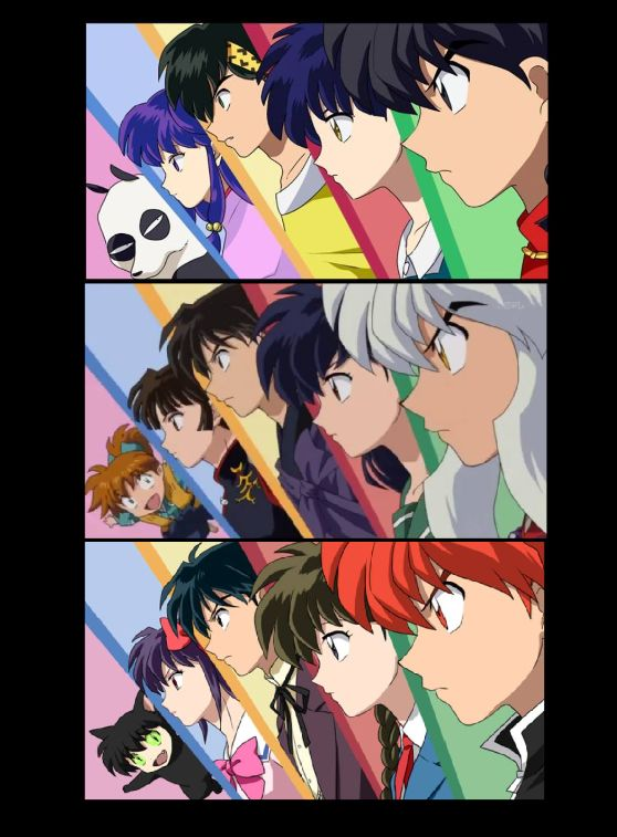 Ranma ½, Inuyasha, & kyoukai no rinne