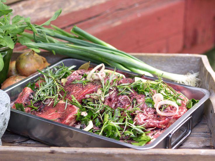 Ernsts marinad med örter och vitlök | Recept.nuKundservice