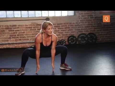 A 20 Minute Power + Endurance Class With Sarah Kusch - YouTube