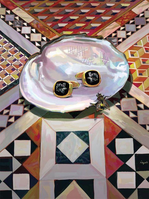 5a18f9a9522f Spanish Artist Ignasi Monreal Illustrates 2017 Gucci Gift Catalogue ...