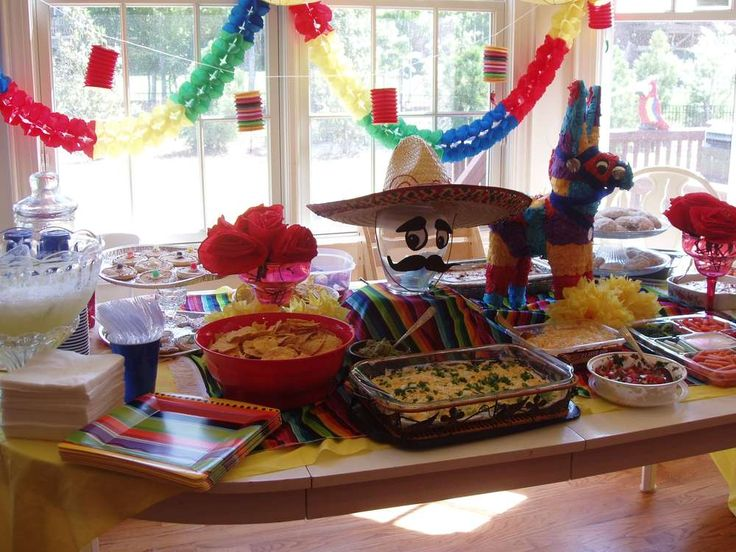 Mexican Christmas Party Ideas Part - 21: Mexican Cinco De Mayo Party Ideas