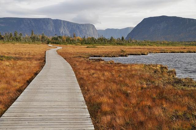Western Brook Pond, Gros Morne National Park, Newfoundland, Canada