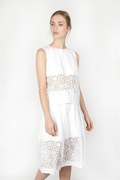 Jamie Skirt  http://relatedapparel.com/Jamie-Skirt.aspx  #relatedapparel #related #white #fashion #summer #lookoftheday