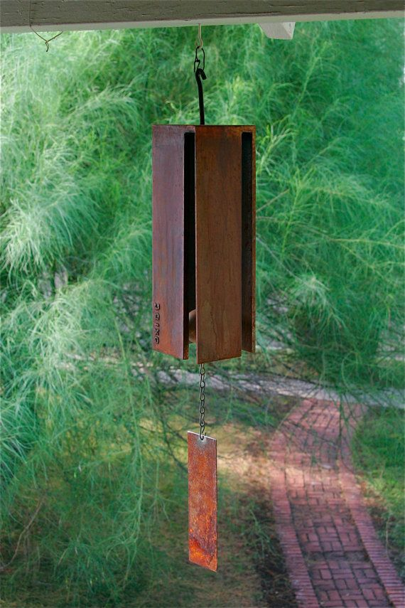 heavy metal wind chime awesome heavy metal and steel plate. Black Bedroom Furniture Sets. Home Design Ideas