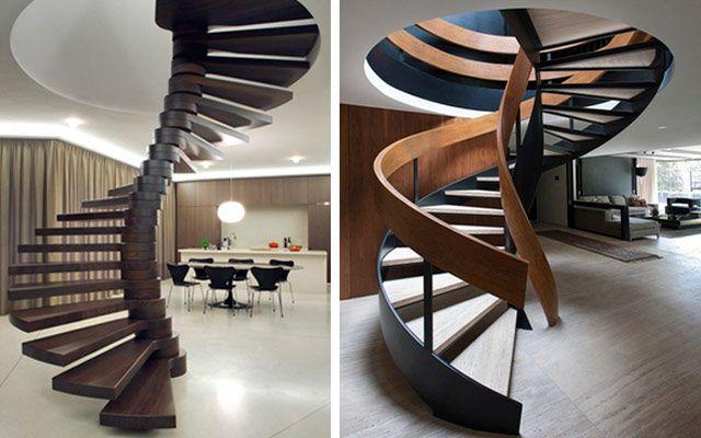 Decofilia Blog | Ideas para decorar con escaleras de caracol originales