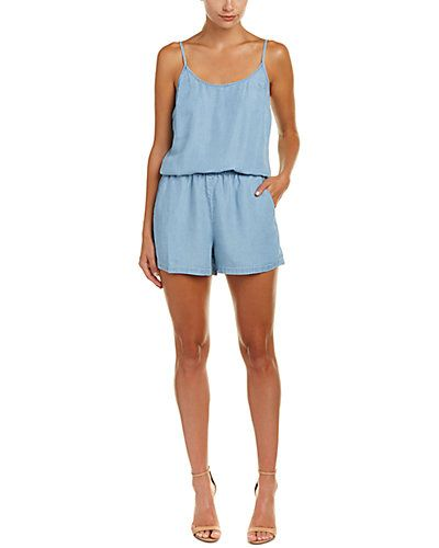 I do NOT know what is going on.  Rompers?  when is the last time anyone of reading age, wore a #ROMPER??? but then, im looking at this- they r all over & whatcha gonna do- at least look.   so i looked- &- i could possibly see this as cute...  Rue La La — Splendid Cami Romper