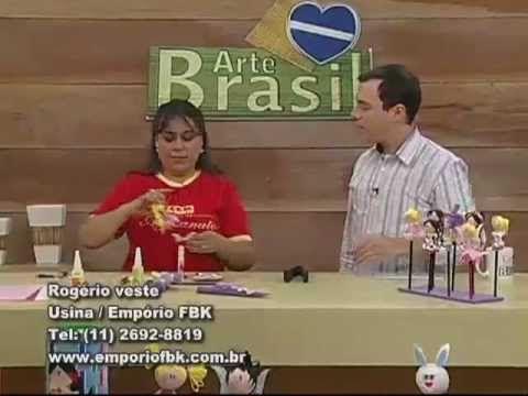 ARTE BRASIL - ANDRÉA NUNES - PONTEIRA PARA LÁPIS EM EVA (23/08/2011)