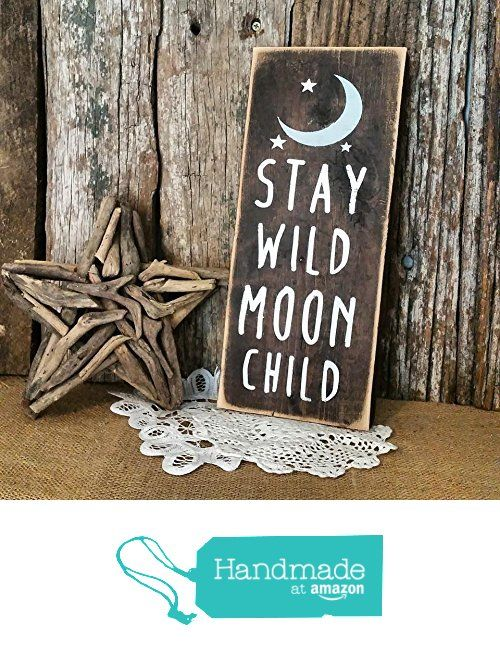 Stay Wild Moon Child Nursery Decor from Peach & Timber CO. http://www.amazon.com/dp/B016X4D2EC/ref=hnd_sw_r_pi_dp_4iWjwb07ZDZEB #handmadeatamazon