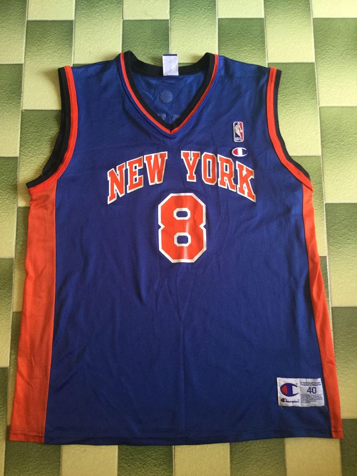 Excited to share the latest addition to my #etsy shop: Vintage 90s champion new york Knicks Latrell Sprewell jersey size 40