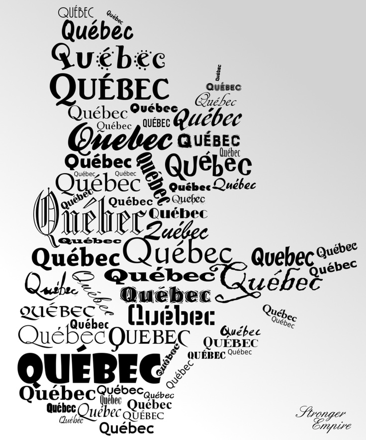 """Quebec Map Police"" by StrongerEmpire.deviantart.com"