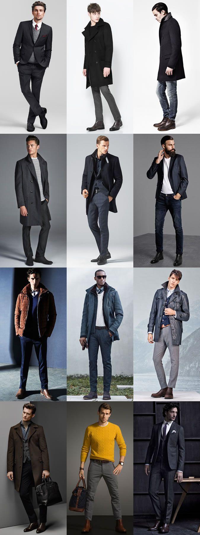 Men's Smart Winter Boots: Chelsea Boots Lookbook Inspiration
