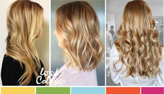Модный блонд - булочный цвет