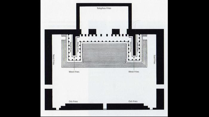Layout Of Presentation At The Pergamon Museum Photo Public Domain Pergamon Pergamon Museum Winding Road